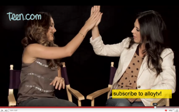 High-5's With Minka Kelly and Yours Truly