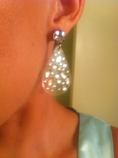Lucite & Diamonds