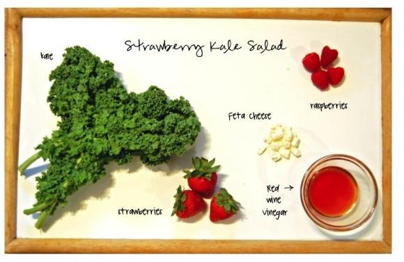 Strawberry Kale INGREDIENTS