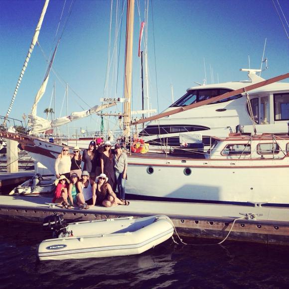 girls trip boat